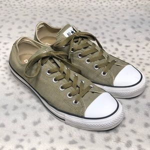 Converse Chuck Taylor Olive Drab Sneaker Low Top